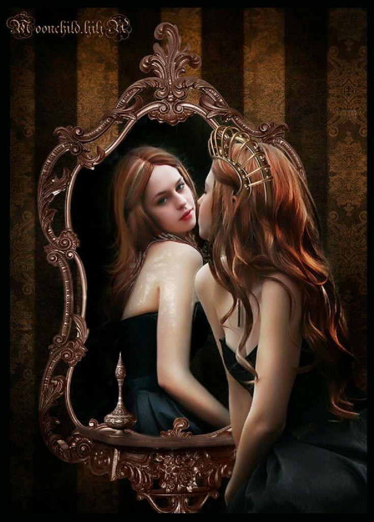 Não brigue com o espelho por ele te dizer a verdade.