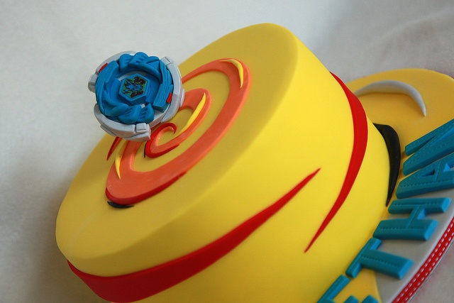 Storm Pegasus Beyblade Cake by MyCakes.com.au, via Flickr