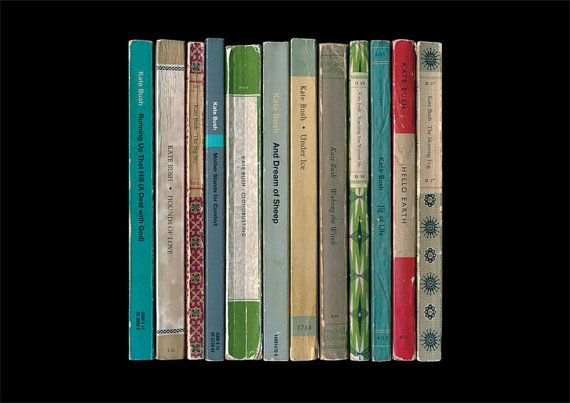 Kate Bush Hounds of Love Album As Penguin Books by StandardDesigns, £15.00