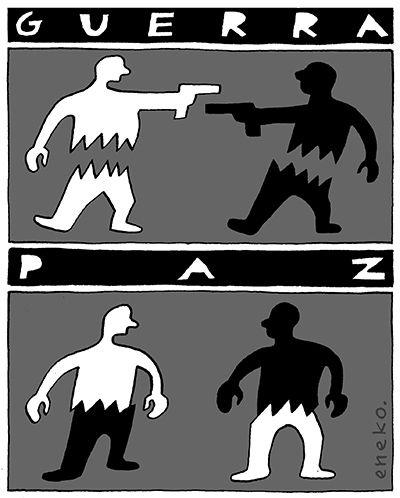 Guerra. Paz