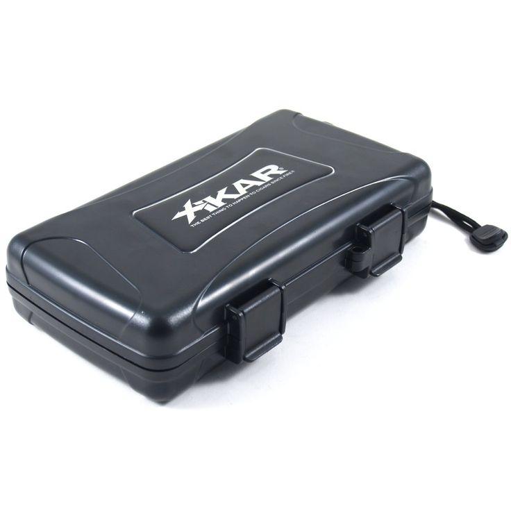 XiKar X-treme Protection Rugged Cigar Travel Case 5ct