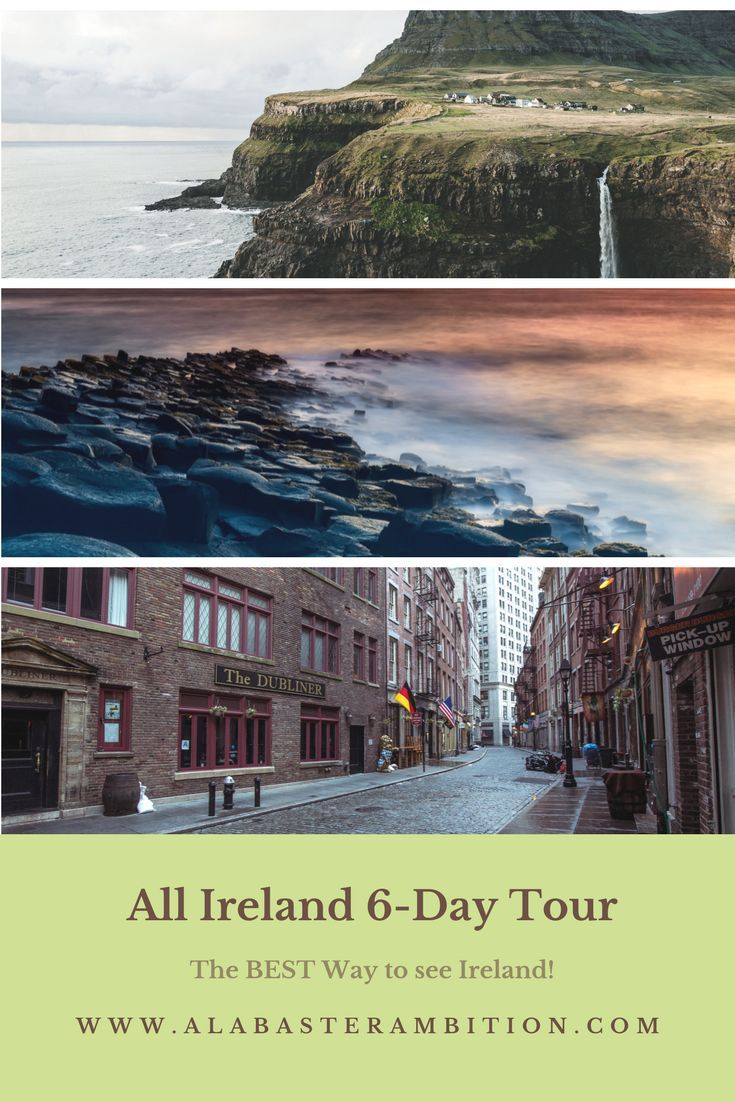 See the great must-see spots in Ireland in 6 days; Plus easy ways to get it done and save a bundle! #Ireland #travel #europe #dublin