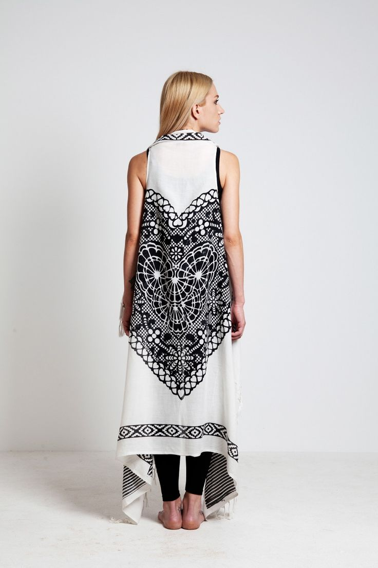 """Cleo Gkatzeli's Inspirations"": beautiful handmade sarongs for a beach-chic look."