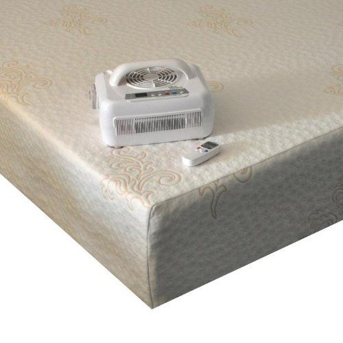 """ChiliBed ~ Cooling and Heating 12"""" Mattress ~ TWIN by ChiliBed. $1967.01. ChiliBed - Cooling and Heating 12"""" Mattress Twin Size with Single Control Unit and wireless remote.  The first actively cooling and heating mattress! ChiliBed is our line of premium memory foam mattress with built in Chili Technology.   Our specially formulated TempXL memory foam helps maintain the support and feel of the mattress through a wide range of temperatures.  All foams integrate..."""