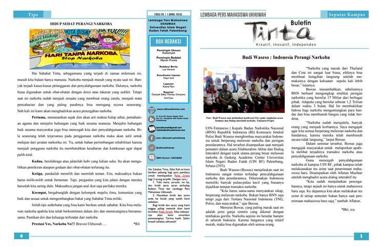 Buletin Tinta Edisi 20, 1 April 2016