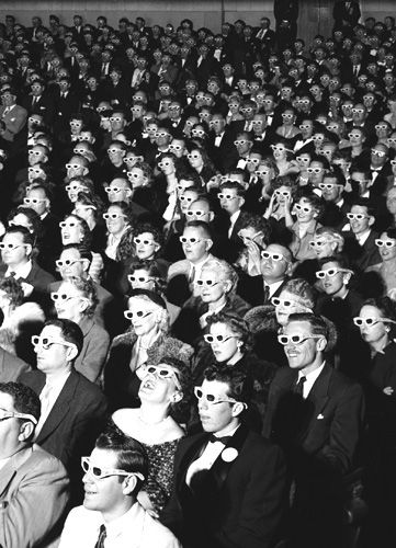 1960s movies | Vintage 3-D Movie Theaters