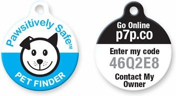 Losing a pet can be heartbreaking, but the Platinum Pets Pawsitively Safe Pet Finder Tag for Dogs makes finding your dog an easy and stress-free process. The durable tag is covered in a scratch- and water-resistant epoxy coating, and it has a unique code on the back. Once you enter this code on the Pawsitively Safe site, you can create a profile with your email and phone number. This info can be updated at any time, and there are no monthly fees for the profile. If your pup goes missing, you…