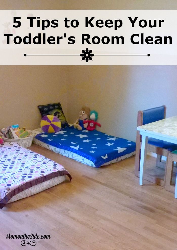 Our Nursery Room rapidly turned into a Toddler Room.I'm sharing 5 Tips to Keep Your Toddler's Room Clean, as clean as a toddler's room can be.
