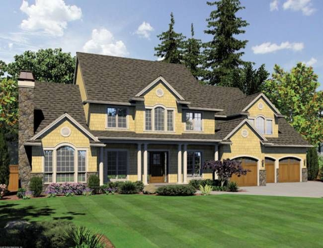 Eplans Country House Plan   Five Bedroom Country   4574 Square Feet And 5  Bedrooms From Eplans   House Plan Code