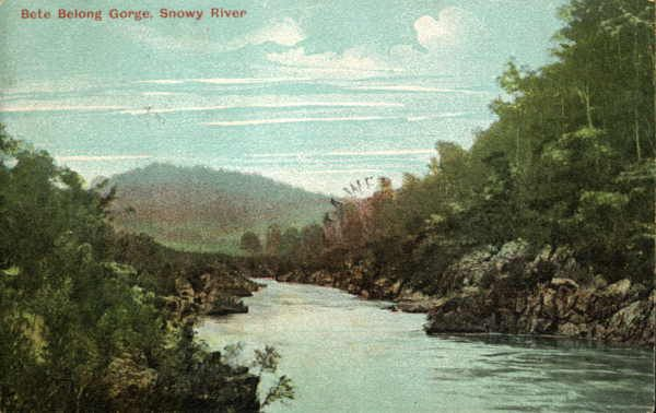 Bete Belong Gorge, Snowy River [picture] , State Library of Victoria