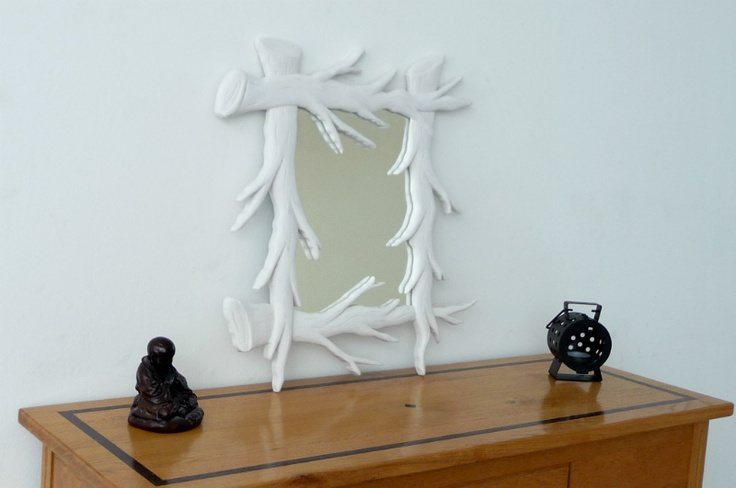 Branches Art Wall Mirror - Funky Mirrors..!