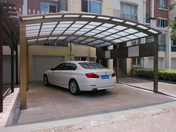Luxury 2 cars carport for sale,Aluminum alloy frame and