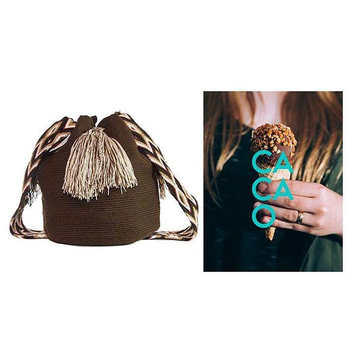 ¡Viva la vida! Esta semana, limita todos los marrones a los de tu #VivaMochila Cacao. Hand woven wayuu bag. Shop online