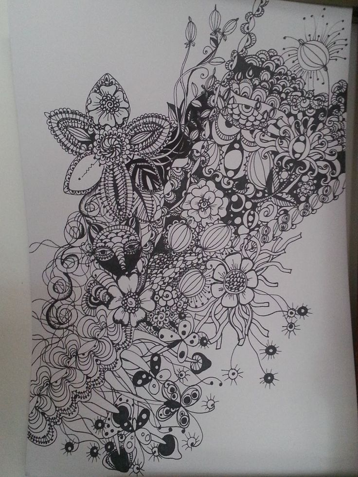 110 Best Images About Crazy Zentangle Maddness On