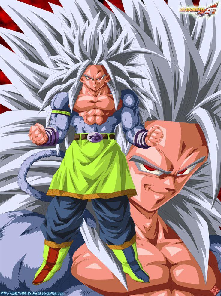 Goku super saiyan 5 anime comic art pinterest goku - Goku super sayan 5 ...