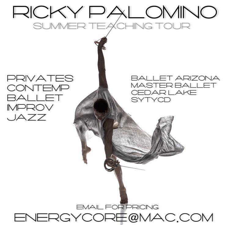 Summer Training with Ricky PalominoSpend Summer 2017 with Ricky Palomino