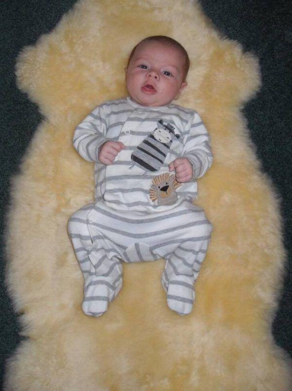 Natural White- ivory Baby Lambskin
