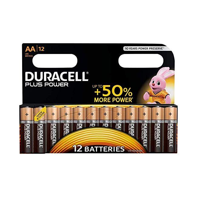 Tech Gadgets Duracell Plus Power Type Aa Alkaline Batteries Pack Of 12 Technology Bestseller Amazon Electronics Duracell Tech Toys Alkaline Battery