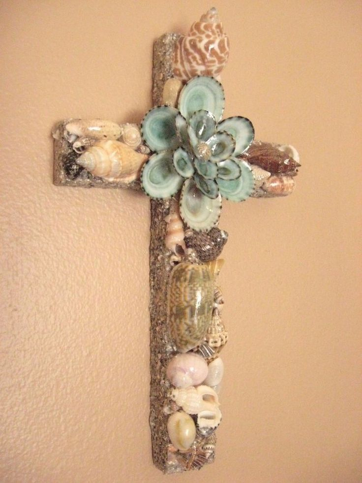 56 best seashell crafts images for Big seashell crafts