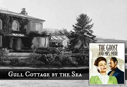 Gull Cottage by the Sea in The Ghost and Mrs. Muir   I always wanted this house.