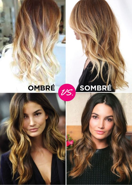 El sombré es un degradado gradual que va de la raíz a la punta de tu cabello. A diferencia de las mechas californianas o el ombré, el sombre es un degradado que no es tan radical, y es más bien sutil, mucho más elegante y sofisticado.