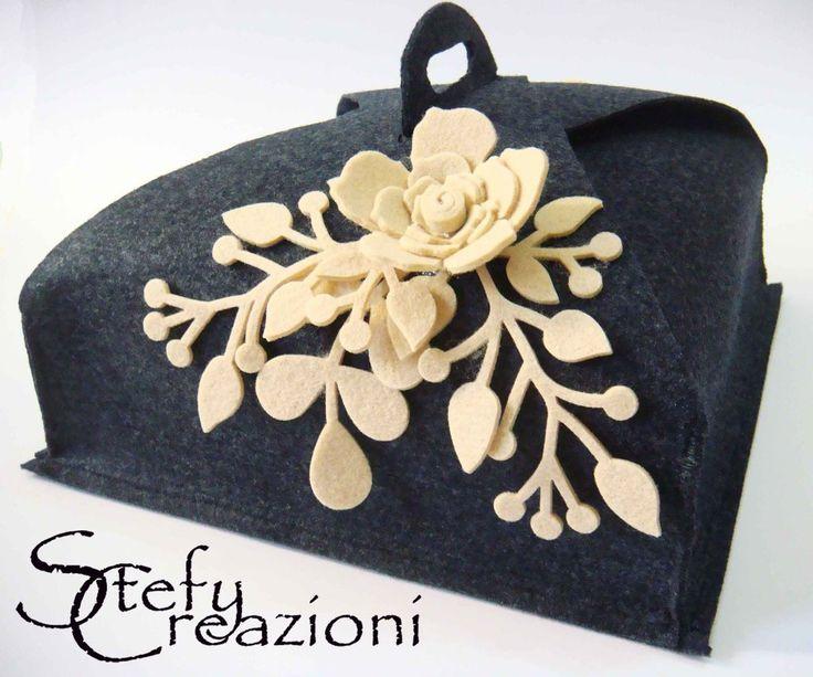 Porta Torta Feltro, by Stefy Creazioni, 18,00 € su misshobby.com