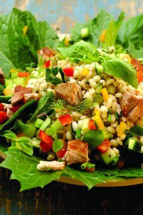 Fresche e nutrienti insalate di cereali estive - Cosa cucino - Cucina Naturale