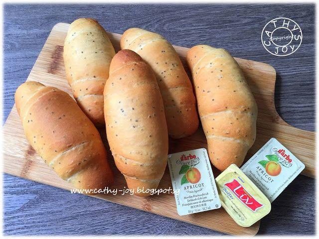 cathy's joy: Kuromitsu Bread Rolls