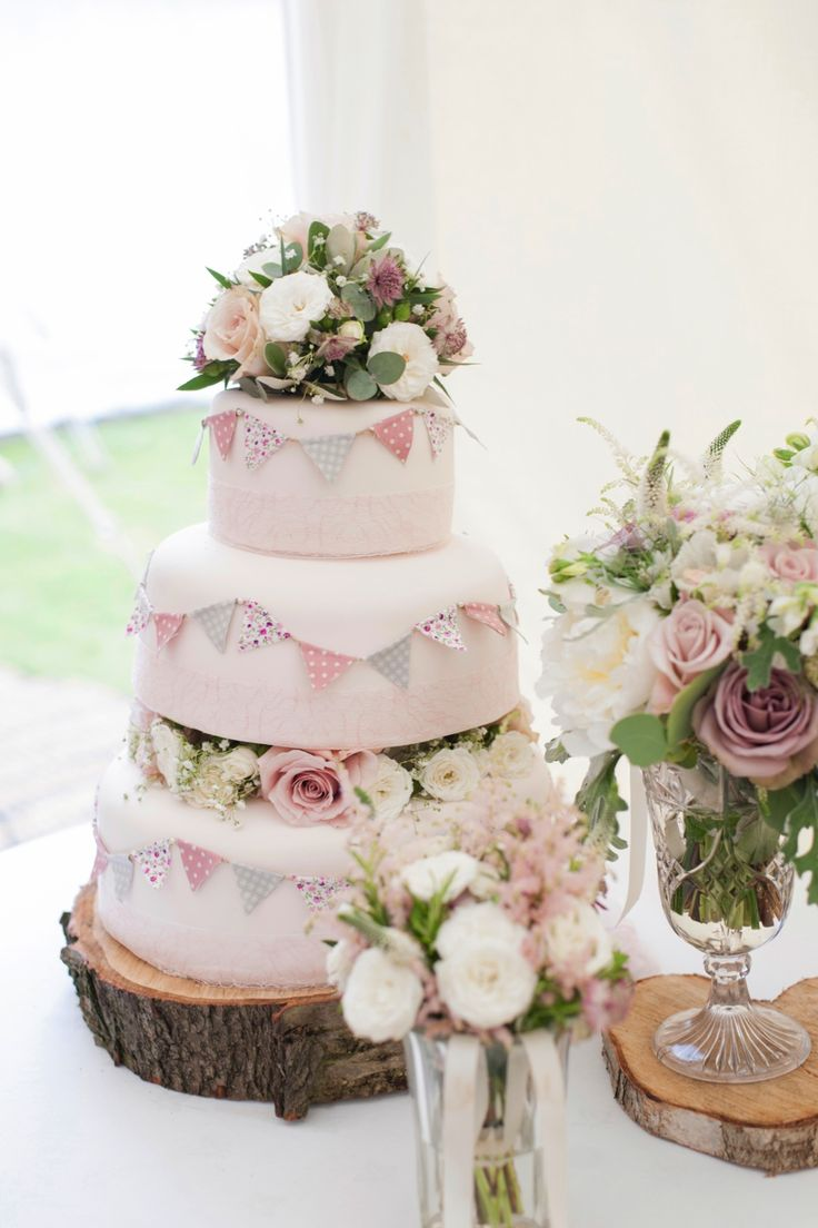 Ask talented friends to get involved in making your big day details – my   friend Clare made our beautiful cake! MORE REAL WEDDINGS