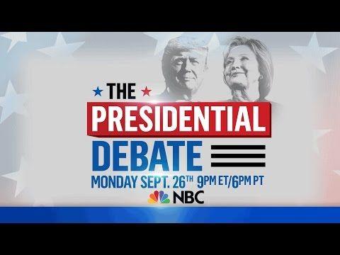 Presidential Debate 2016 live stream free (TV Channel, Start time tonight, Fox, CNN, ABC, MSNBC, Univision): Watch Donald Trump vs Hillary Clinton online   Christian News on Christian Today