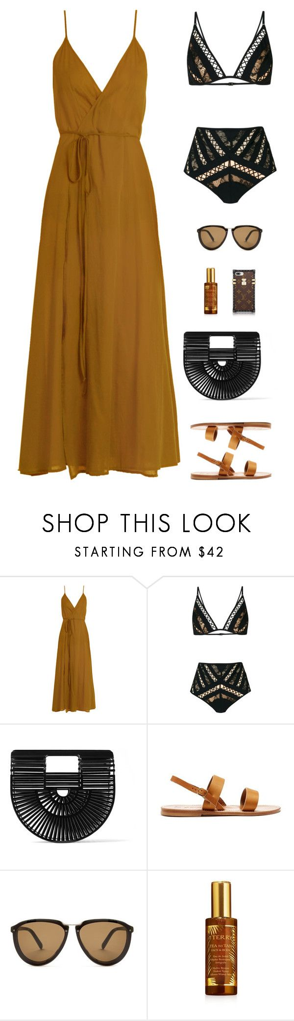 """""""Sin título #4820"""" by mdmsb on Polyvore featuring moda, Loup Charmant, Zimmermann, Cult Gaia, K. Jacques, Marni y By Terry"""