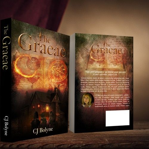 Fantasy Book Cover - The Graeae - For teens to young adults
