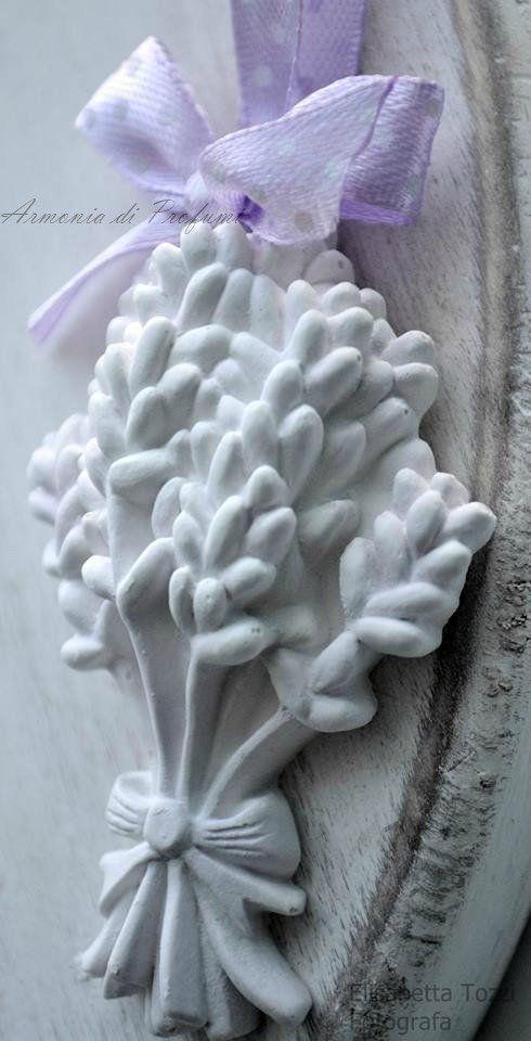 gessi profumati segnaposto lavanda