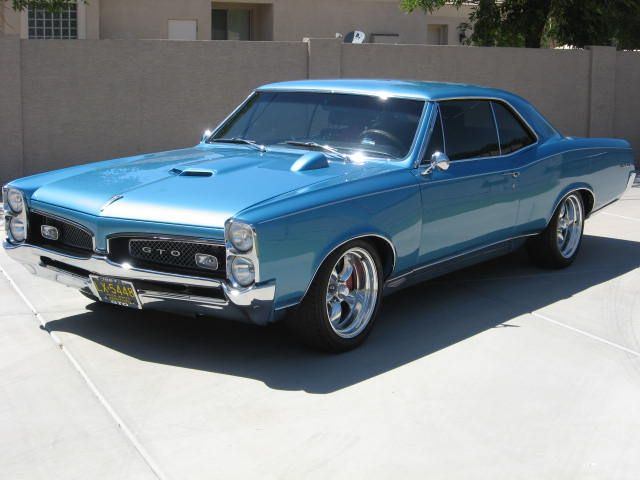 1967 PONTIAC GTO  My mom and I shared this car while in high school. But it was a convertable.