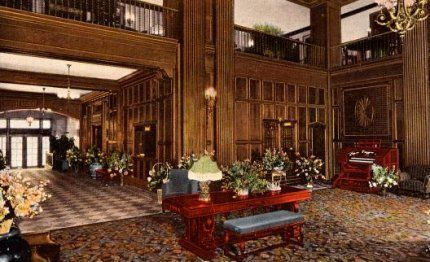 Original Lobby at the Heathman! Recognize the space? #teacourtlounge