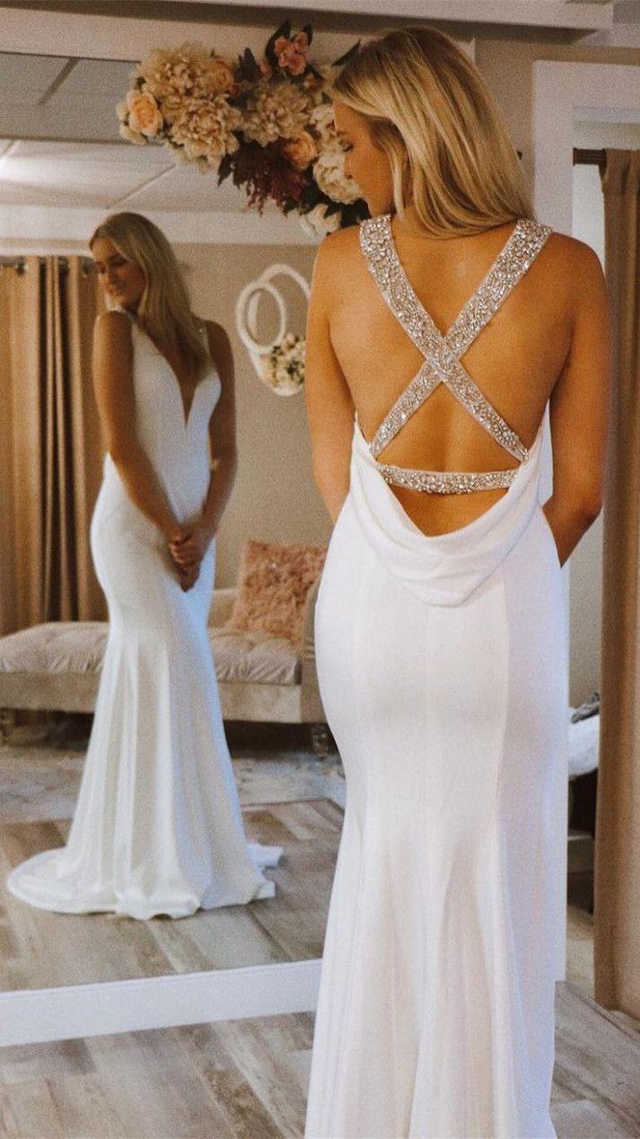 9 Kleid Weiß Lang in 9  Langes abendkleid, Abendkleid