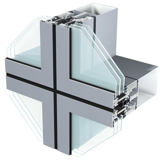 Pin On Unitized Curtain Wall