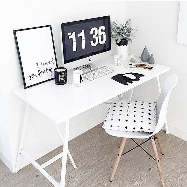 mesa de trabalho - minimal workspace