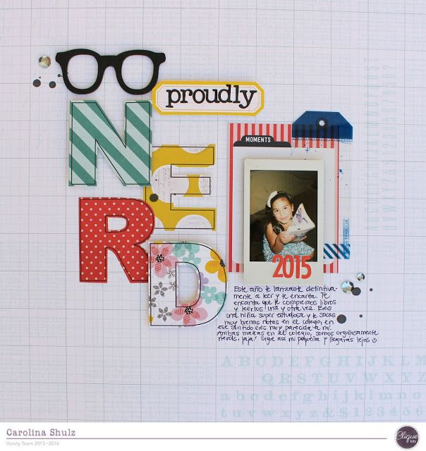 Proudly Nerd - December Challenge at Clique Kits
