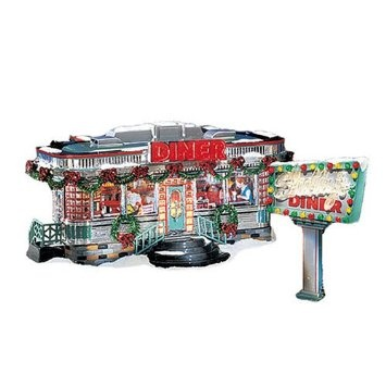 43 best lionel trains houses dept 56 images on pinterest department 56 snow village shellys diner st2 publicscrutiny Image collections