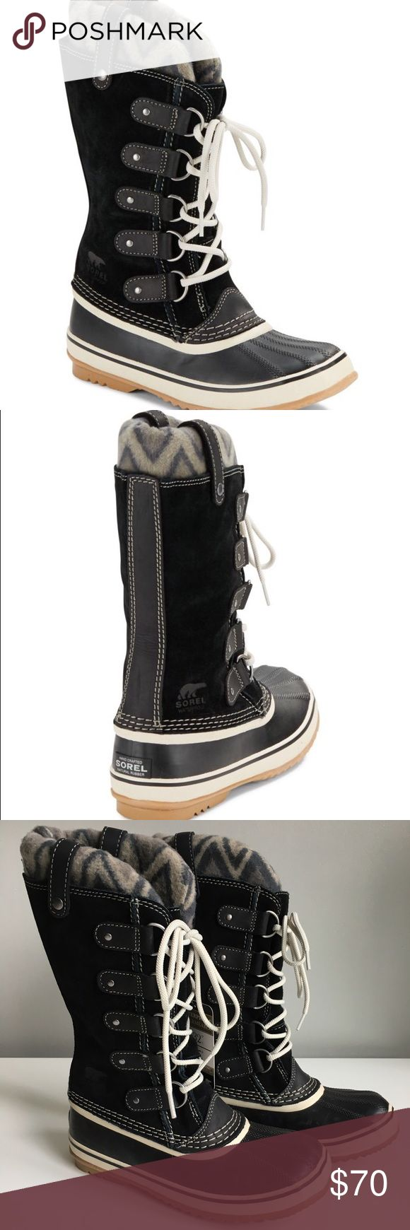 Rubber mats exeter - Sorel Joan Of Arctic Black Winter Boots Size 7 5 Nwt