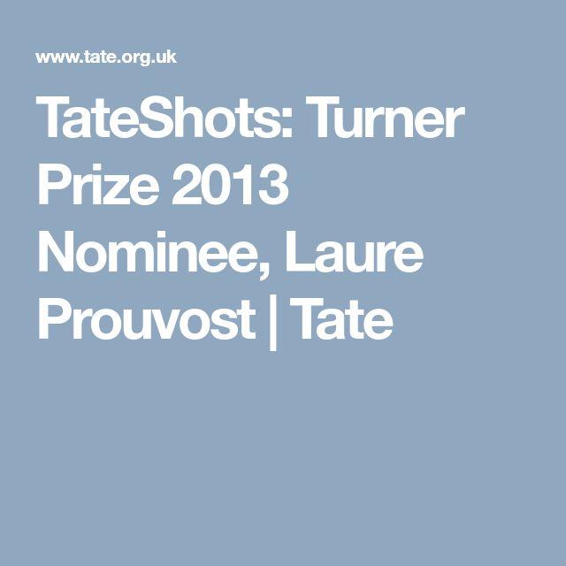 TateShots: Turner Prize 2013 Nominee, Laure Prouvost | Tate