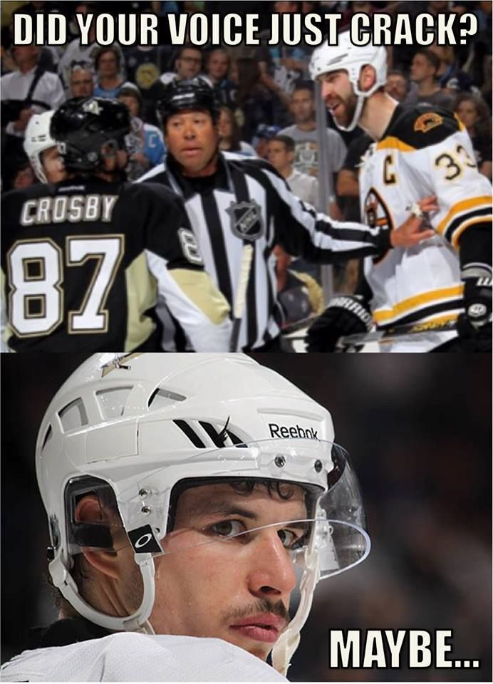 I'm a Pens girl and I love Sid but this is just too funny