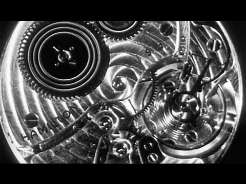 "Watchmaking: ""What Makes a Fine Watch Fine"" 1947 Hamilton Watch Company https://www.youtube.com/watch?v=qfaT6sfagEE #watches #mfg #industry"