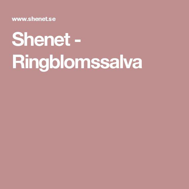 Shenet - Ringblomssalva