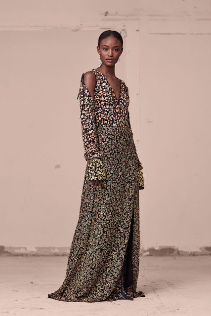 Ditsy-Floral-fashion-trend - Altuzarra Pre-Fall 2017 Collection