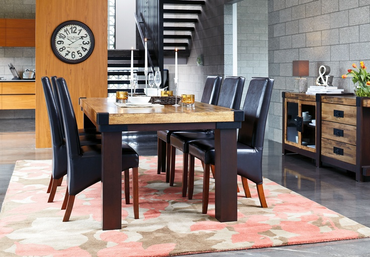 The York 7 Piece Rectangular Dining Suite by Insato from  : 6eebd935d4ea671dea1b7aef5eb4fa1c from www.pinterest.com size 736 x 511 jpeg 165kB