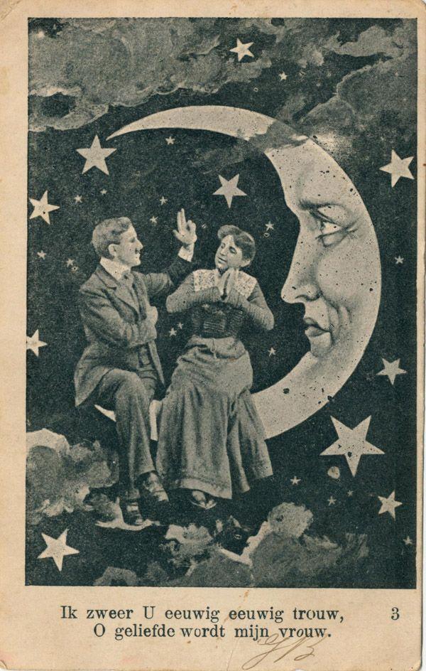 vintage moon - Pesquisa Google