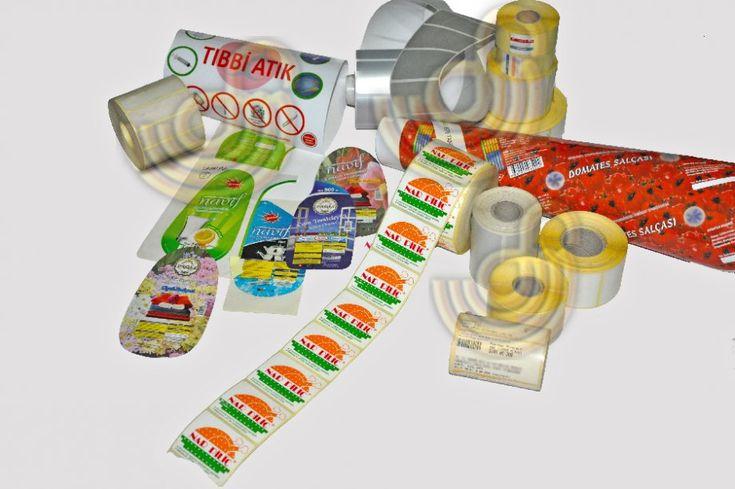 Offset baskı ile , kendinden yapışkanlı etiketler - sticker lar, ürününüze uygun özel tasarımlar veya kendi hazır tasarımınız doğrultusunda, her türlü ebatta ve kesim şekillerinde matbaa mızda hazırlanmaktadır. Ayrıca termal etiket, rulo etiket, barkod, QR kare kod, barille , marka etiketleri, fiyatlandırma etiketleri, ürün etiketleri ve diğer çeşit etiketler de istediğiniz doğrultuda tarafımızdan yapılmaktadır.Etiket baskı-basım ihtiyaçlarınız için bize ulaşın..