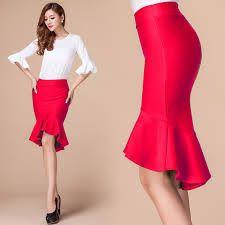 Image result for fishtail skirt pattern